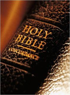The Holy Bible....