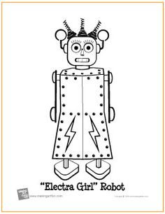 robot Robots color page disney coloring pages color plate