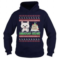 Awesome American Eskimo Dogs Lovers Tee Shirts Gift for you or your family your friend:  American Eskimo Christmas Day,American Eskimo Black Friday,American Eskimo Christmas Eve,American Eskimo Noel,American Eskimo Ugly Christmas Sweater Tee Shirts T-Shirts