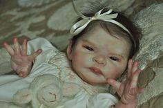 Alla s Babies Reborn Baby Girl Doll Prototype Cassia,Sylvia Manning, IIORA