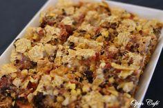 Jauheliha-nachopiirakka Fried Rice, Food To Make, Banana Bread, Macaroni And Cheese, Fries, Food And Drink, Baking, Ethnic Recipes, Desserts