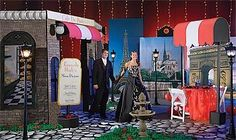 Our exclusive Toujours Paris Theme Kit will transform your party venue in the streets of the City of Lights. The kit includes six Parisian props.