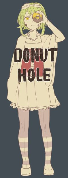 Gumi   Donut Hole   I don't know if I should cosplay as Donut Hole Gumi or Matroshyka Gumi