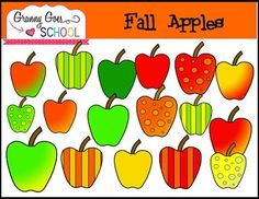 This file contains 21 png apple images (including black lines).  All images are 300 dpi, files.  They are great for resizing for products and classroom materials.  EnjoyCindyGranny Goes to School