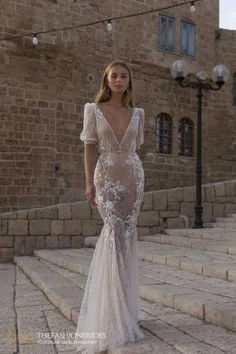 Berta Muse 2020 Fall Bridal Collection – The FashionBrides Bridal Dresses, Wedding Gowns, Berta Bridal, Fit And Flare Wedding Dress, Bridal Fashion Week, Bridal Collection, Bridal Style, Formal Dresses, Mini Dresses