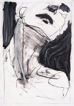 Lost in America - vjeranski: Tim Dayhuff Life Drawing, Figure Drawing, Painting & Drawing, Drawing Faces, Drawing Tips, Abstract Portrait, Portrait Art, Portraits, Posca Art