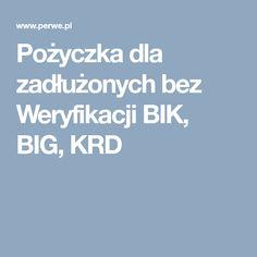Pożyczka dla zadłużonych bez Weryfikacji BIK, BIG, KRD