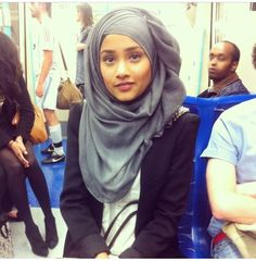 Love the way she wears it | Hijab Fashion