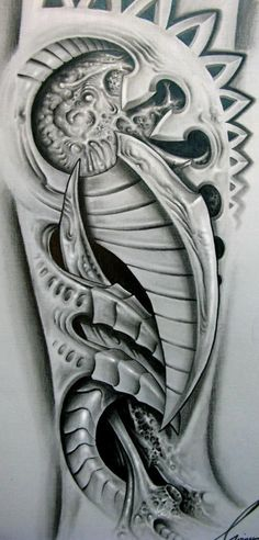 Slikovni rezultat za tatuajes biomecanicos en el brazo