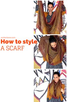 how to wear a scarf amberkane.com