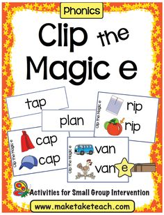 Shortly after students are solid with their sound-symbol relationships we begin toteach specific phonics rules. The Magic e rule is one of the first rules introduced to students. Students must learn that vowels actually have two sounds- a long sound and a short sound. When reading, students must decide if the vowel in the word …