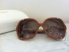 Chloe Nude Sunglasses via The Queen Bee. Click on the image to see more!