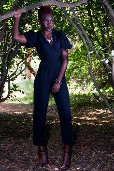 Fitted jumpsuit, lizmadowo.co.ke, nightime look