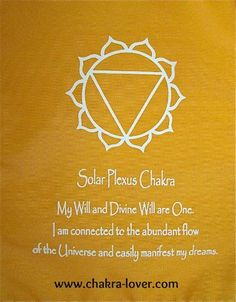 Solar Plexus information. Affirmations, yoga, oils, herbs, meditation.