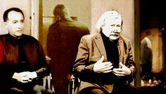 Peter Sloterdijk y Adolfo Vasquez Rocca Peter Sloterdijk, Portrait, Fictional Characters, Writers, Journals, University, Historia, Men Portrait, Fantasy Characters