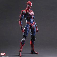 Square Enix Marvel Spider-man Variant Play Arts Kai Figure Marvel Comics
