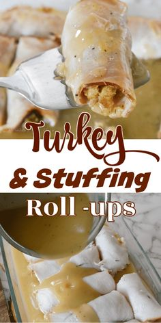 Homemade Stuffing, Stuffing Recipes, Leftovers Recipes, Turkey Recipes, Meat Recipes, Delicious Recipes, Dinner Recipes, Turkey Stuffing, Turkey Gravy