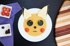 Also known as pikachowder this vegan pikachu soup is perfect for summertime made mostly with yellow crookneck summer squash. Vegetarian Recipes Dinner, Vegan Breakfast Recipes, Delicious Vegan Recipes, Healthy Meals For Kids, Kids Meals, Summer Squash Soup, Finding Vegan, Vegan Foods, Cute Food