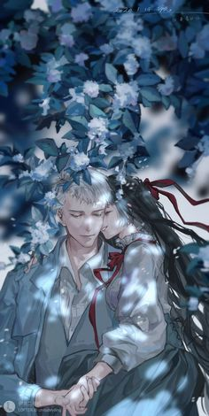 Anime Couples Manga, Anime Guys, Jobs In Art, Fantasy Couples, Romance Comics, Cute Anime Coupes, Manga Cute, Anime Love Couple, True Art