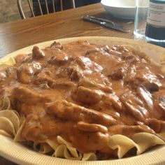 Beef Stroganoff - I copied this recipe from an old Better Homes and Gardens Cook Book back in the early '60s. I've tried numerous other versions over the years but always fall back on this one -- it is the best!!! - Beef Stroganoff