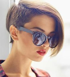 Stunning One Sided Undercut 2015 – 2016 for Women