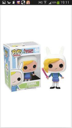 Adventure time- Fionna pop doll