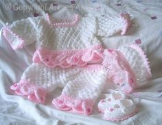 Angies Angels patterns - exclusive designer knitting and crochet patterns for your precious baby or reborn dolls, handmade, handknitted, baby clothes, reborn doll clothes Mehr Baby Dress Patterns, Baby Knitting Patterns, Free Knitting, Crochet Patterns, Baby Doll Clothes, Crochet Doll Clothes, Knitted Dolls, Knitted Baby, Crochet Bebe