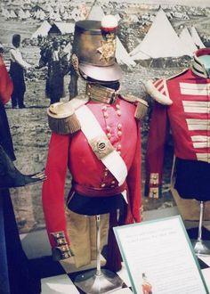 Crimean Infantry Officers uniform - 19th foot , 1855