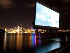 George OpenAir Cinema -- Sydney : Outdoor Movies Around the World… Movies Under The Stars, Outdoor Cinema, Travel Channel, Stunning View, Australia Travel, Weekend Getaways, Sydney, Places To Go, Around The Worlds