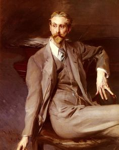 Portrait of the Artist Lawrence Alexander Peter Harrison, 1902 by Giovanni Boldini. Don't know Harrison's work but he had personal style, at least when he was having his portrait painted. Giovanni Boldini, John Singer Sargent, Italian Painters, Italian Artist, High Society, Portrait Art, Male Portraits, Fashion Portraits, Portrait Paintings