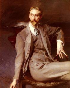 Giovanni Boldini (1842-1931), Portrait de Lawrence Alexander (Peter) Harrison - 1902