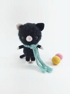 Amigurumi Cat, Crochet Cat, Amigurumi Kitty, Crochet Kitty, Softie Animal, Amigurumi Plush, Crochet Stuffie, Stuffed Cat, Softie Doll by MossyMaze on Etsy https://www.etsy.com/listing/250539709/amigurumi-cat-crochet-cat-amigurumi