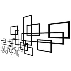 Geometric Slate Wall Decal & Vinyl Wall Art From Trendy Wall Designs