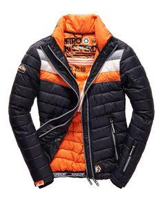 Fuji Snow Jacket (Black Run / Jaffa)