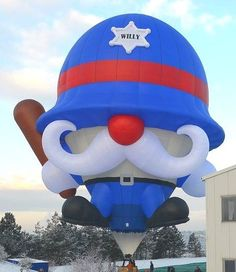 Welcome Pilot Wilfred Lapointe of Collinsille, Oklahoma. Wilfred flies the balloon, Keystone Willy. #BalloonFiesta