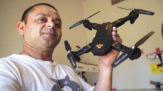 Meet DJI Mavic Clone Visuo X809W WiFi Camera Quadcopter