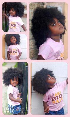 Baby girl werkinnnnn her natural fro!