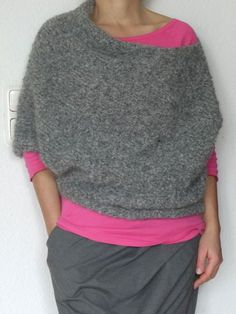 Crochet Patterns Pullover Finally I managed to be part of RUMS again. Crochet Pullover Pattern, Poncho Knitting Patterns, Knitting Blogs, Knitting For Beginners, Hand Knitting, Knit Crochet, Crochet Patterns, Dou Dou, Patterned Socks