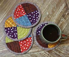 Oversized Coasters Pattern