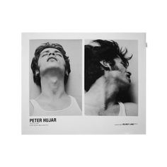 Poster – Helmut Lang continues their artist series with American Photographer Peter Hujar, which features photographs from Hujar's Orgasmic Man Series; Orgasmic Man I, Orgasmic Man II, and Orgasmic Man III. Andy Black, A Little Life Book, Mise En Page Portfolio, Plakat Design, Black And White Portraits, Graphic Design Posters, Grafik Design, Photoshoot Inspiration, Helmut Lang