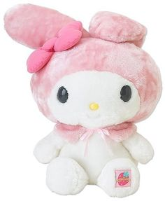 Sanrio My Melody Standard Stuffed Animal 3l .- Click image twice for more info - See a larger selection of  stuffed animal toys  at http://zbabybaby.com/category/baby-categories/baby-and-toddler-toys/baby-stuffed-animal-toys/  - gift ideas, baby , gift ideas  kids « zBabyBaby.com