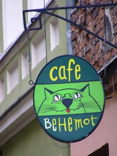 cafe behemot   by kicimiau
