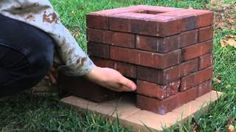 How To Make A Brick Rocket Stove Complete With Adjustable Airflow…Fast, Easy, And Awesome