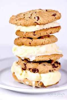 Ice cream sandwiches make a favorite sweet treat! This peanut butter ice cream…