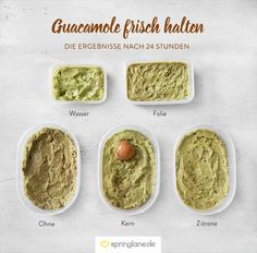 Avocado (und Guacamole) frisch halten: 6 Methoden im Test
