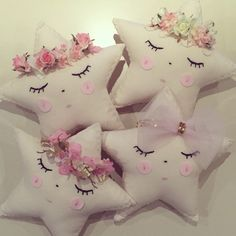 Handmade little crowned star cushions x by Isaidsokids on Etsy https://www.etsy.com/au/listing/228615474/handmade-little-crowned-star-cushions-x