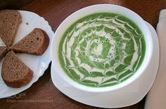 Pic: spinach soup