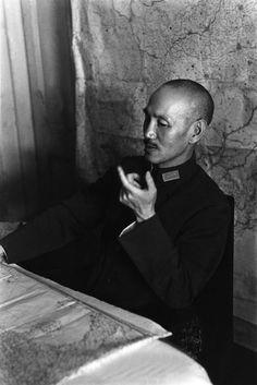 Robert Capa - Il generale Chiang Kai-shek, Hankou, Cina 1938