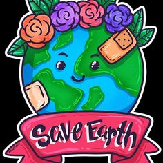 Save The Earth Umweltschutz Klimawandel Geschenk Kind Mode, Craft Projects, Crafts, Environmentalism, Gifts For Travelers, Iphone Case Covers, Stationery Set, Manualidades, Handmade Crafts