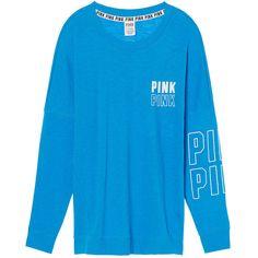 Hoodies and Sweatshirts - PINK ($50) ❤ liked on Polyvore featuring tops, hoodies, sweatshirts, hoodie sweatshirts, victoria secret sweatshirt, victoria secret hoodie, pink hooded sweatshirt and crewneck sweatshirt
